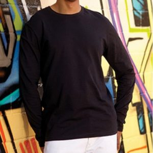 Adult Fine Jersey Long Sleeve Tee