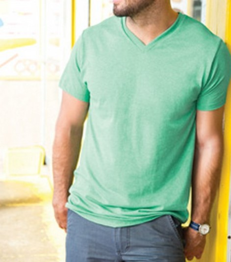 Adult Jersey V-Neck Tee